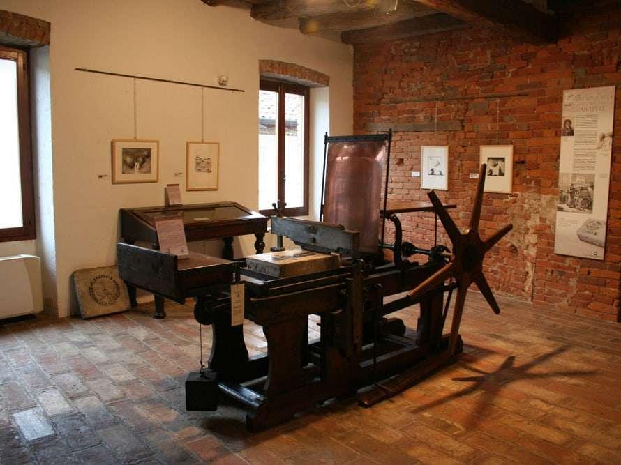 Museo della stampa casa degli stampatori soncino aimsc for Planimetrie della casa degli artigiani